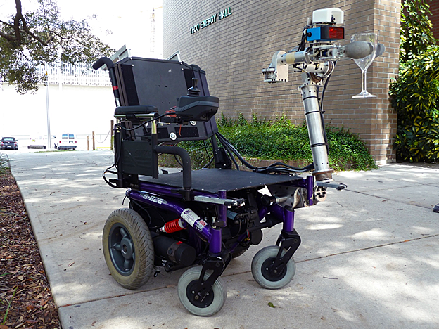 Wheelchair Mounted Robotic Arm image